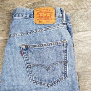 Levi's 550 size 34 denim shorts